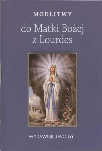 Modlitwy do Matki Bożej z Lourdes - okładka książki
