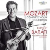 Mozart complete violin concertos - okładka płyty