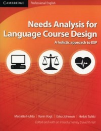 Needs Analysis for Language Course - okładka książki