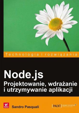 Node.js Projektowanie wdrażanie - okładka książki