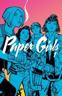 Paper Girls 1 - okładka książki