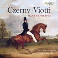 Piano concertos czerny & viotti - okładka płyty