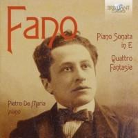 Piano sonata in e minor  quattro - okładka płyty