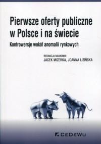 Pierwsze oferty publiczne w Polsce - okładka książki