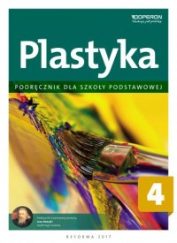 Plastyka 4. Szkoła podstawowa. Podręcznik - okładka podręcznika