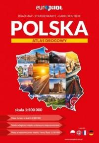 Polska atlas drogowy 1:500 000 - okładka książki