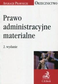 Prawo administracyjne materialne. - okładka książki