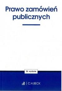 Prawo zamówień publicznych - Wydawnictwo - okładka książki
