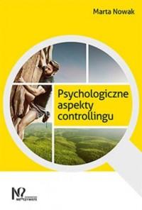 Psychologiczne aspekty controllingu - okładka książki