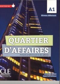 Quartier daffaires podręcznik poziom - okładka podręcznika