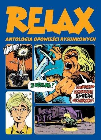 Relax. Antologia opowieści rysunkowych. - okładka książki