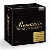 Romantic piano concertos 40cd - - okładka płyty