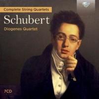Schubert complete string quartets - okładka płyty