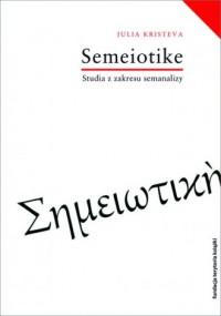 Semeiotike Studia z zakresu semanalizy - okładka książki
