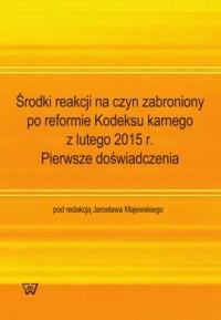Środki reakcji na czyn zabroniony - okładka książki