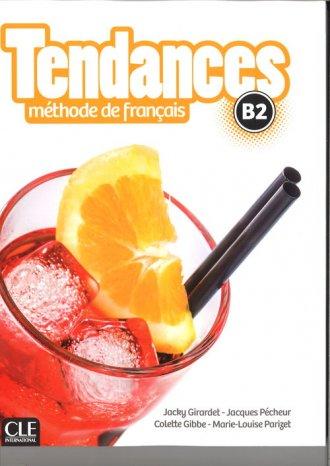 Tendances B2. Podręcznik (+ DVD) - okładka podręcznika
