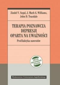 Terapia poznawcza depresji oparta - okładka książki