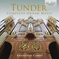 Tunder complete organ music - Wydawnictwo - okładka płyty