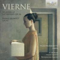 Vierne spleen et detresse op.38 - okładka płyty