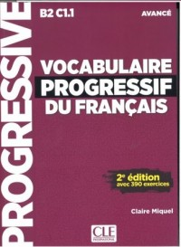 Vocabulaire progressif du Francais - okładka podręcznika