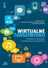 Wirtualne targowisko. O reklamie - okładka książki