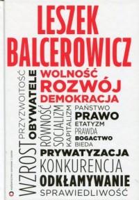 Wolność, rozwój, demokracja - okładka książki