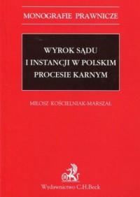 Wyrok sądu I instancji w polskim - okładka książki