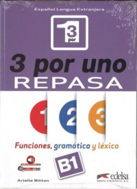 3 por Uno poziom B1 książka - okładka podręcznika