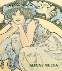 Alfons Mucha - okładka książki