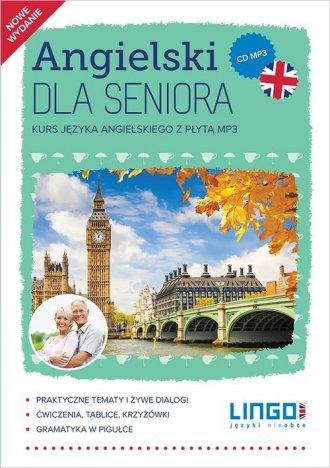 Angielski dla seniora. Kurs języka - okładka podręcznika