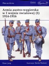 Armia austro-węgierska w I wojnie - okładka książki