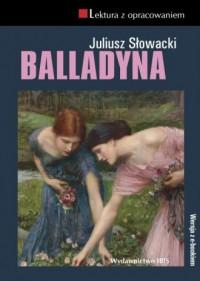 Balladyna. Lektura z opracowaniem - okładka książki