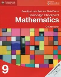 Cambridge Checkpoint Mathematics 9 Coursebook - okładka podręcznika