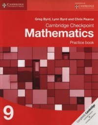 Cambridge Checkpoint Mathematics Practice Book 9 - okładka książki