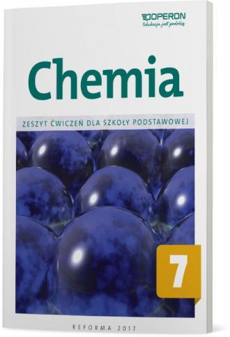 Chemia 7. Szkoła podstawowa. Zeszyt - okładka podręcznika