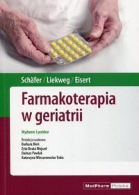 Farmakoterapia w geriatrii - okładka książki