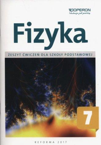 Fizyka 7. Szkoła podstawowa. Zeszyt - okładka podręcznika