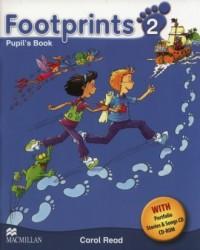 Footprints 2 Pupils Book + CD + Potrfolio Booklet - okładka podręcznika