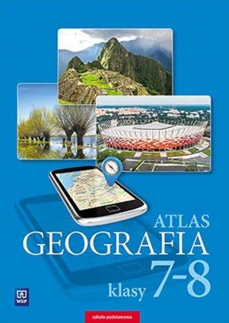 Geografia 7-8. Szkoła podstawowa. - okładka podręcznika