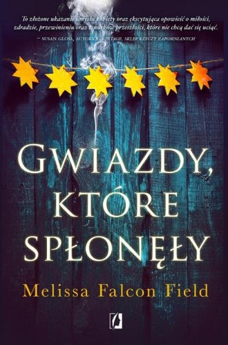 Gwiazdy które spłonęły - okładka książki