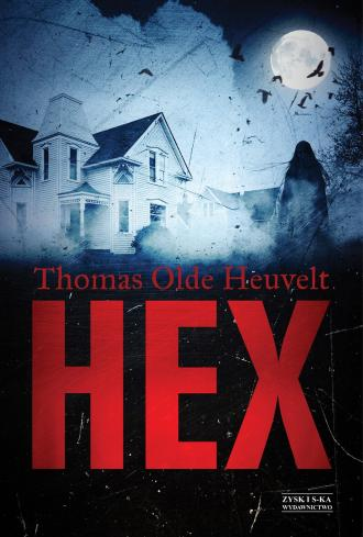 HEX - okładka książki