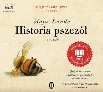 Historia pszczół - pudełko audiobooku