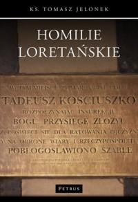 Homilie Loretańskie - okładka książki