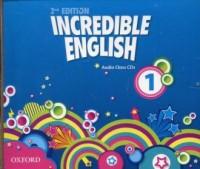 Incredible English 1 Audio Class - pudełko audiobooku