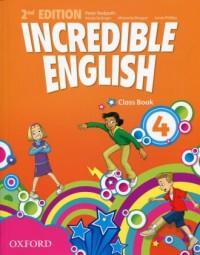 Incredible English 4 Class Book - okładka podręcznika