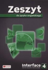Interface 4. Gimnazjum. Zeszyt - okładka podręcznika