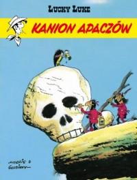 Kanion Apaczów. Lucky Luke. Tom 37 - okładka książki