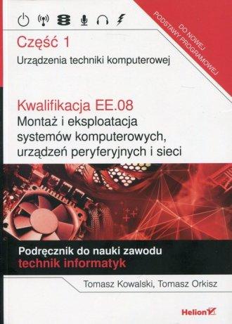 Kwalifikacja EE.08 Montaż i eksploatacja - okładka podręcznika