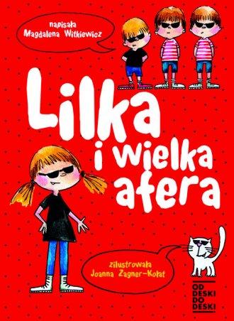 Lilka i wielka afera - okładka książki