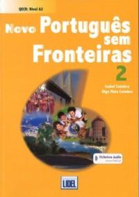 Novo Portugues sem Fronteiras 2 podręcznik - okładka podręcznika